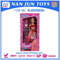 2015 Popular Dress-up Lovely Barbie Doll for Kids
