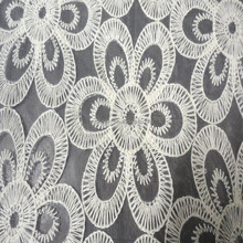 2015 Top selling fashion flower pattern organza fabric with embroidery ,organza embroidery fabric for woman's dress