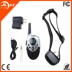 Pet collars automatic remote control dog training product with LED display