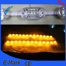 15cm/30cm/45cm/60cm/85cm flexible drl with turning signal yellow and white