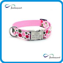 No minimum order low price pet products custom dog collar