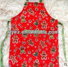baratos de algodón de navidad delantal de cocina