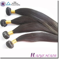 """2015 New Style Natural Looking Eurasian 12"""" Straight Remy Hair Weft"""