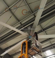 Mounting of roof biggest body cooling energy saver fans for workers