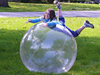 Outdoor entertainment inflatable sphere plastic toy ball