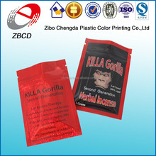 wholesale killa gorilla herbal incense bag