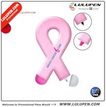 Liquimark Awareness Ribbon Shaped Double Sided Pen Highlighter Combo (T287833)