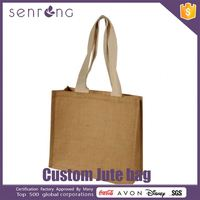 Jute Bag With Wooden Handle Jute Wine Bottle Bags