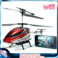 iphone&wifi control 3channel real-time video transmission flying camera helicopter rc airplane fpv gw-tu16w
