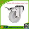 stainless steel nylon ball bearing caster wheel