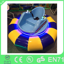 funny kids amusement round electric inflatable bumper car