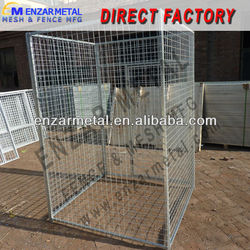 Welded Wire Mesh Dog Cage / Dog Kennel Wire Mesh Fence
