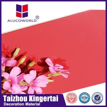Alucoworld hot sale aluminum composite panel acp acm for clading wall cladding