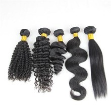 Fast shipping 6A virgin hair deep wave weave virgin peruvian remy 100 human hair