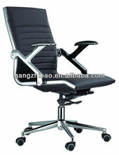 Hotsale low back metal frame revolving office chair AB-145