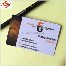 Customized Full Color Printed Plastic Business Card