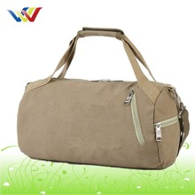 Canvas Round Travel Bag With Top Quality