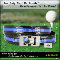 Custom Men Golf Ball Marker Belt Club Accessory Gift