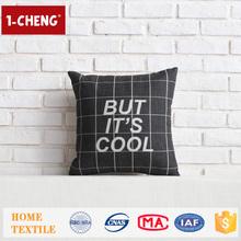 New Design Creative Cooling Words Design Cushion Home Decor Pillow Case,Lamb Fur Cushion