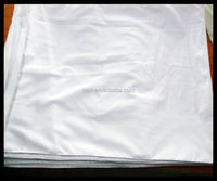 """65% polyester 35% cotton 45x45 96x72 57/58"""" bleached white fabric by roll"""