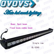 Best China supplier 240w rechargeable led light bar Aluminum alloy with stainless steel bracket