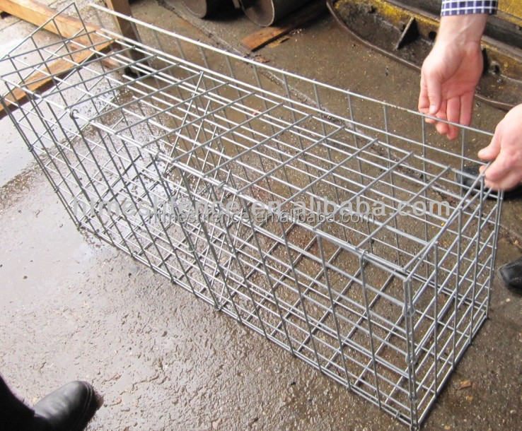 100cmx30cm x 50cm welded stone cage wall buy welded wire rock wall welded stone cage wall - Grillage pour gabion ...