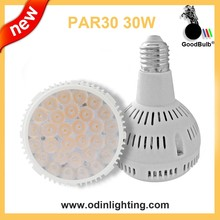 good heat par30 led spotlights E27 G53 GU10 CE ROHS Approved