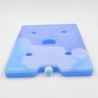 PE Food dry ice cooling box, hard shell cod brick,mini gel ice pack