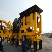 mobile rock crusher china manufacturer CE certificated