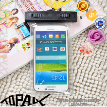 Newest PVC waterproof case for mobile phone, with arm bags case for Samsuang galaxy S5