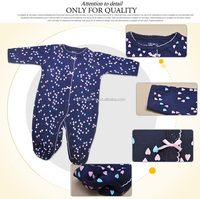 lovely design organic cotton baby boys romper suits