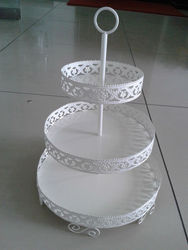 lace edge 3 Tier Cupcake Stand Cupcake Holder
