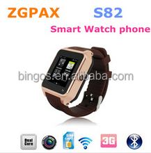 """Smartwatch with Android 4.4 3G GPS Bluetooth WiFi MTK6572 Dual Core Smartphone Watch Phone 1.54"""""""