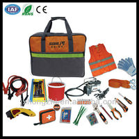 Automobile Emergency Road Tool Kit in PVC Bag