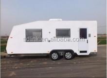 China Made caravan travel trailer camping trailer