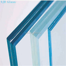 price of 5--15mm ultra white tempered laminated glass