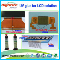 LCM adhesive glue for sensor and touch screen lcd glue/ screen adhesive LCD TN STN seal protect UV