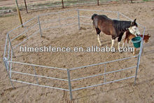 Five feet tall galvanized round pen -- 65 lb panels for horse