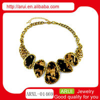 alibaba website acrylic amber statement necklace 2013