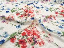 Printed CDC 100% silk fabric Apparel Manufacturing Process