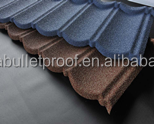 Bond type Color Sand Stone Coated metal Roof Tile