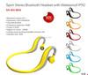 Universal Wireless Bluetooth Headset earphone for Running Hiking