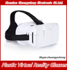 New Peomotion Cheap 3D glasses Plastic VR Virtual Reality Glasses Google Cardboard for 3D Movies Games Fit 4-6 phone Print Logo