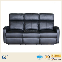 Hot-sale leather recliner functional lightweight sofa beds
