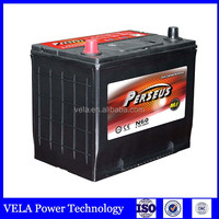 Automotive parts battery box N60 maintenance free battery