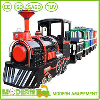electric mini train for kids shopping mall trackless train for sale