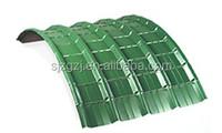 hot wholesale sunfast corrugated galvanized steel roof tile sheet / gauge thickness galvanized corrugated steel sheet
