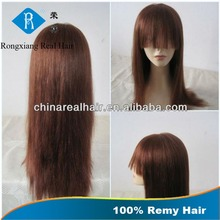 Stable Quality Factory Price 100% Human Hair Silky Straight doll wig