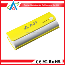 100*44*26mm Size 3000-5200mah high voltage power bank manufacture, smart mobile power, power supply 5v