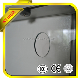 High quality Clear Tempered Glass with holes //hot pricce
